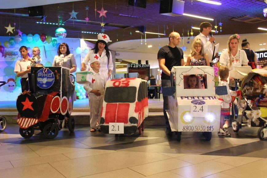 В Белгороде прошёл парад необычных детских колясок, фото-1