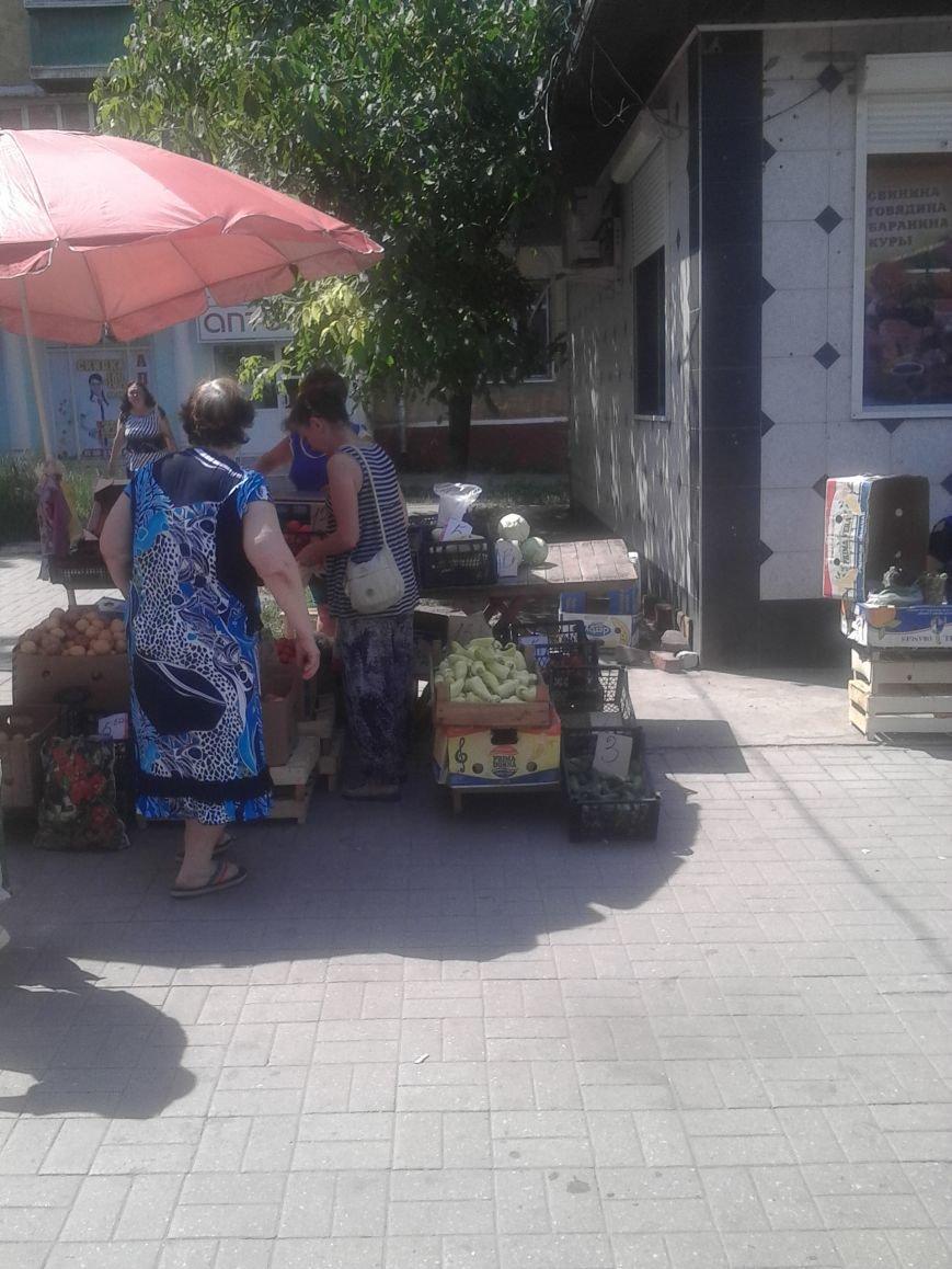 Мариупольцы жалуются на стихийную торговлю на Левобережье (ФОТО), фото-5