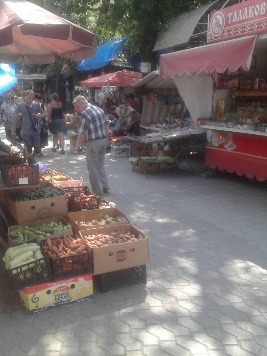 Мариупольцы жалуются на стихийную торговлю на Левобережье (ФОТО), фото-4