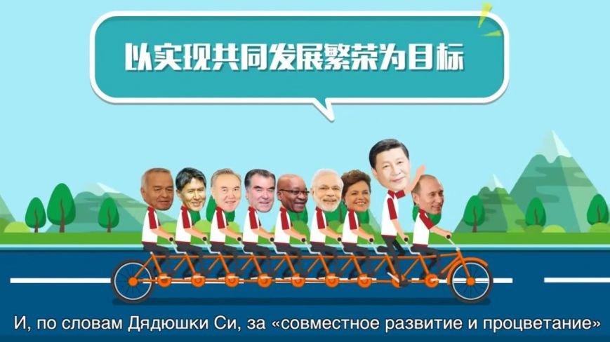 В Китае сняли мультфильм о саммитах ШОС и БРИКС в Уфе (фото) - фото 4