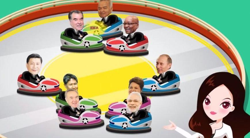 В Китае сняли мультфильм о саммитах ШОС и БРИКС в Уфе (фото) - фото 2