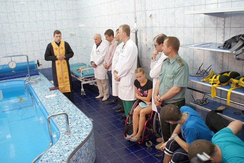 У Львові відкрили унікальний реабілітаційний кабінет-басейн для відновного лікування воїнів АТО (фото) - фото 4