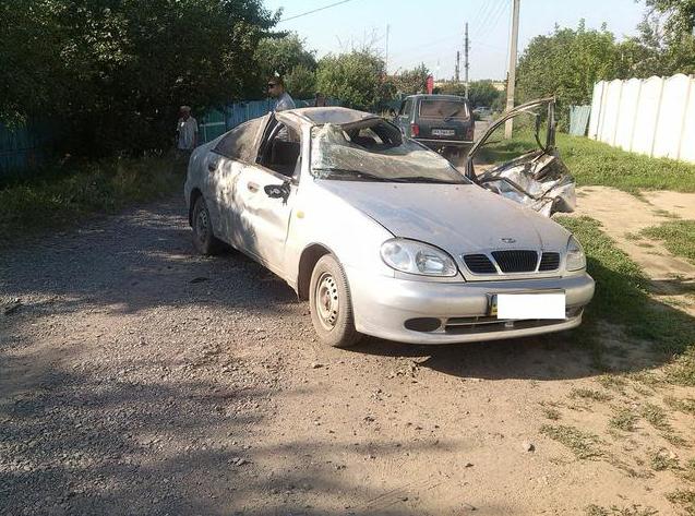 На Харьковщине пьяный подросток перевернул машину (ФОТО) (фото) - фото 1