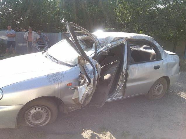 На Харьковщине пьяный подросток перевернул машину (ФОТО) (фото) - фото 2
