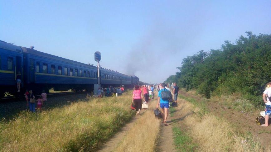 «Нас просто выкинули из поезда» - пассажир горевшего поезда Киев - Николаев (ФОТО) (фото) - фото 1