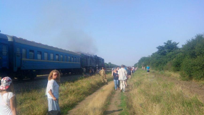 «Нас просто выкинули из поезда» - пассажир горевшего поезда Киев - Николаев (ФОТО) (фото) - фото 3