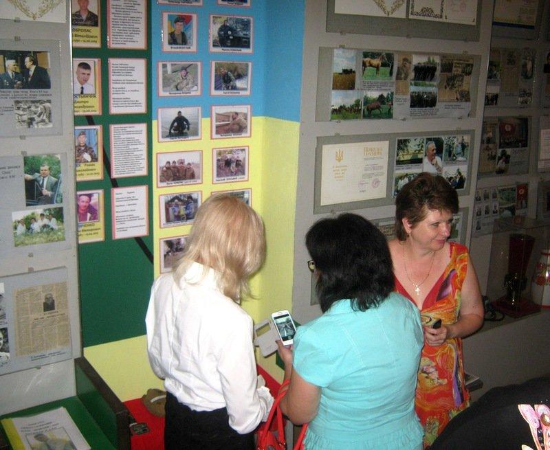 Экспозиция, посвященная участникам АТО, открылась в Днепропетровской области (фото) - фото 1