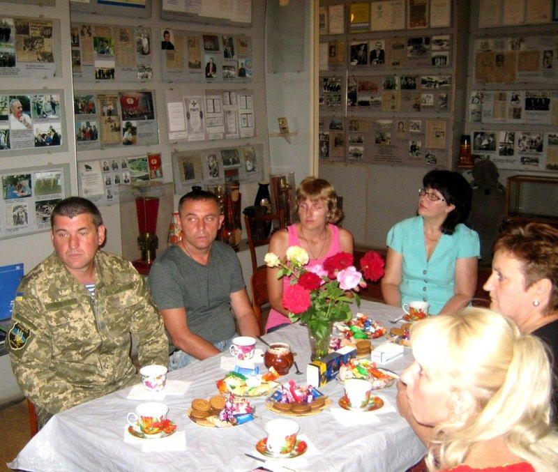 Экспозиция, посвященная участникам АТО, открылась в Днепропетровской области (фото) - фото 3