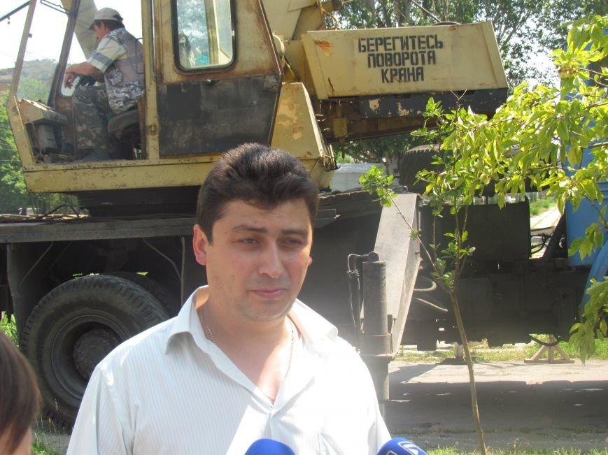 Центральный проспект Мариуполя перерыли (ФОТО), фото-3
