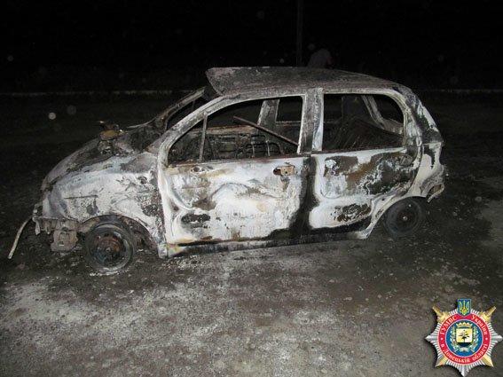 Во время возгорания на газовой заправке пострадала краматорчанка (фото) - фото 1