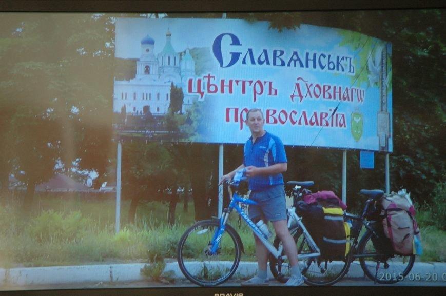 Запорожский путешественник объехал прифронтовую зону на велосипеде (ФОТО), фото-3