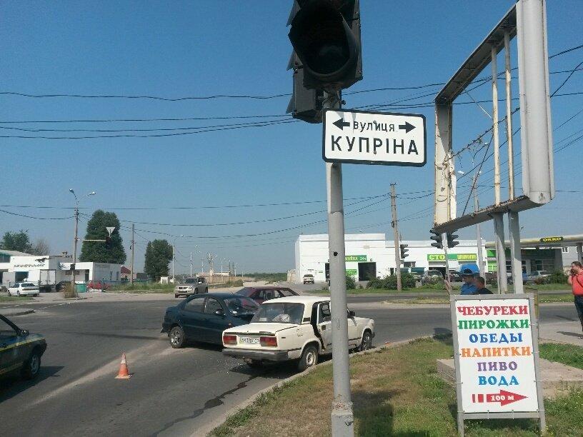 Тройное ДТП в Мариуполе: пострадали 2 человека (ФОТО), фото-6