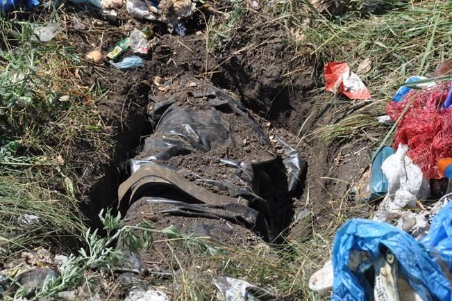 На Днепропетровщине под кучей мусора найден тайник с арсеналом боеприпасов (фото) - фото 1