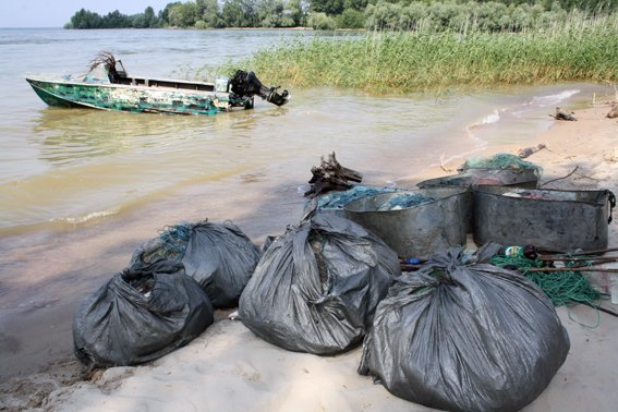 На Кременчугском водохранилище у браконьеров изъяли 200 кг рыбы (ФОТО) (фото) - фото 2