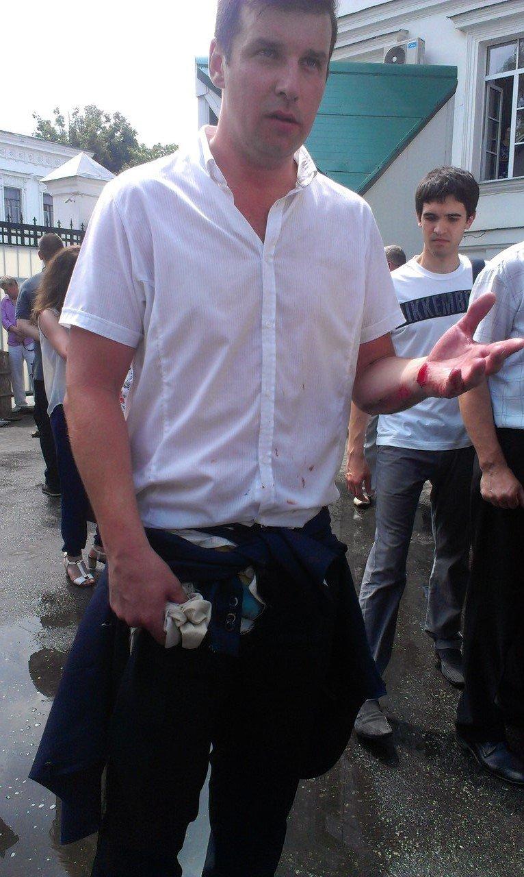 Міський голова Полтави Олександр Мамай збив автомобілем депутата (фото) - фото 1