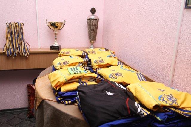 Сергей Березенко подарил новую форму игрокам сборной Украины среди диабетиков, фото-2