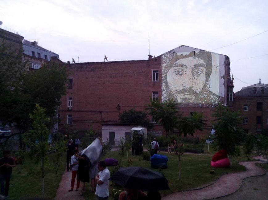 Президент Украины открыл фреску Сергею Нигояну (ФОТО) (фото) - фото 1