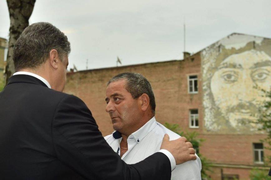 Президент Украины открыл фреску Сергея Нигояна (ФОТО), фото-5