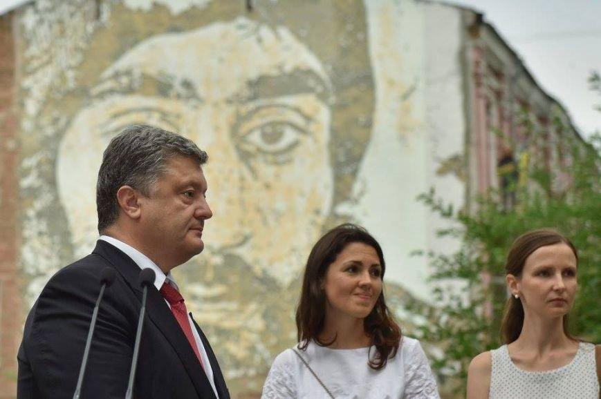 Президент Украины открыл фреску Сергея Нигояна (ФОТО), фото-8