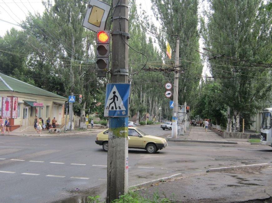 В Славянске заработали светофоры на проблемном перекрестке в центре города (фото) - фото 2