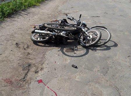 На Сумщине еще одно ДТП с участием велосипеда и мопеда (ФОТО) (фото) - фото 1