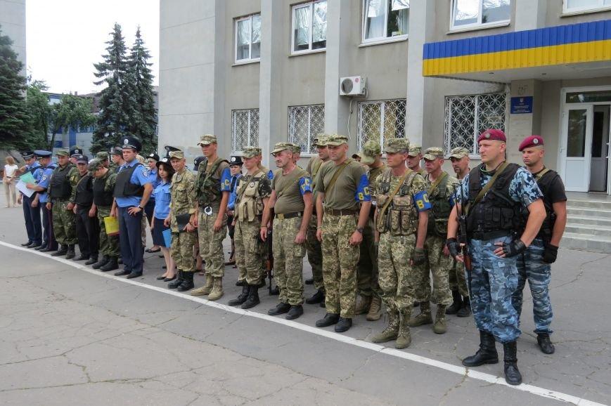 В Красноармейске прошел традиционный пятничный инструктаж правоохранителей, фото-4