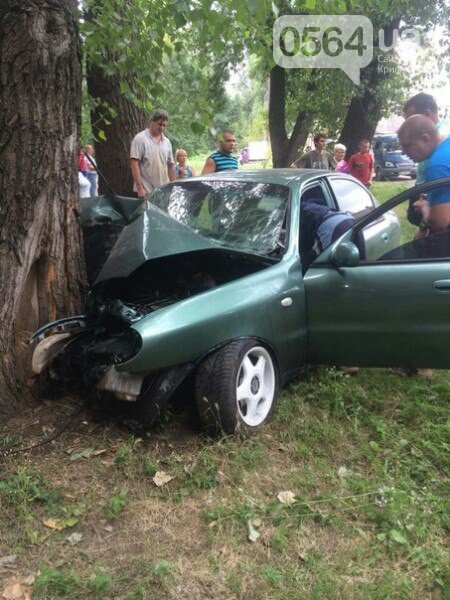 В Кривом Роге: задержали двух убийц, простились с бойцом «Айдара», «Lanos» влетел в дерево, ребенок провалился в коллектор (фото) - фото 4