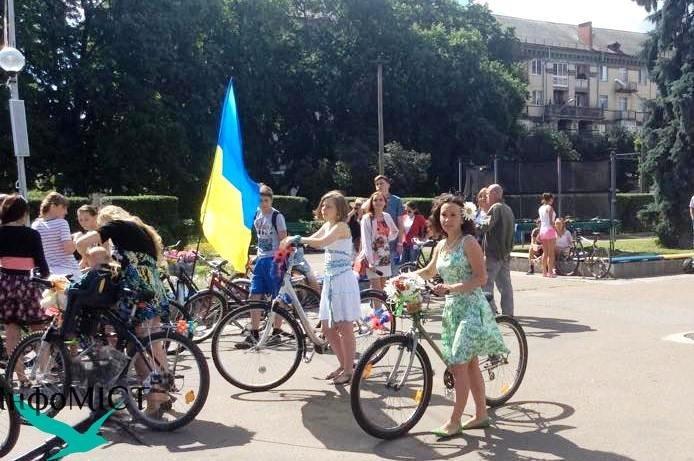 Стратував IV Черкаський Велопарад Дівчат (фото), фото-4