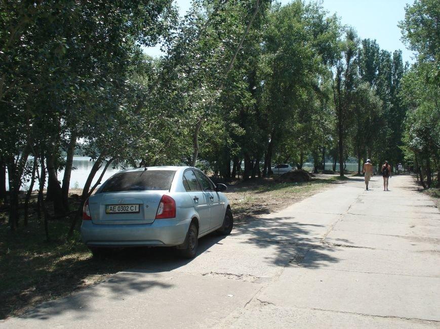 В Днепропетровске депутаты «почистили» природу ради парковок для машин? (ФОТО) (фото) - фото 1
