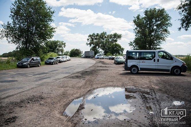 В Днепропетровской области на месте гибели Кузьмы Скрябина открыли памятный знак, фото-3