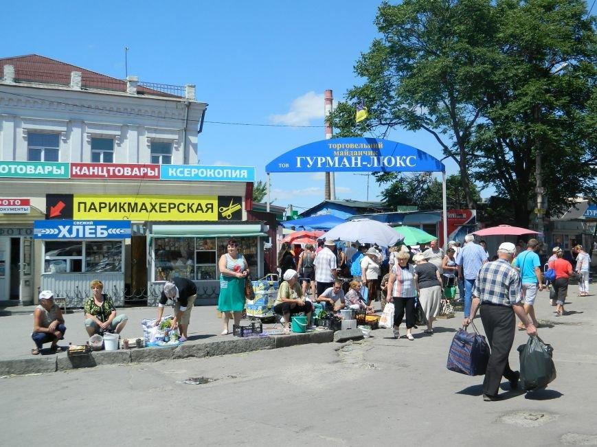 Запорожье встречает гостей рекламой Москвы, серпом-молотом и выцветшим гербом (ФОТОРЕПОРТАЖ) (фото) - фото 6
