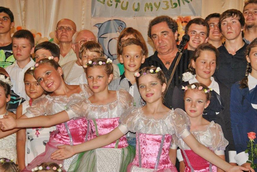 участники концерта с Александром Долинским