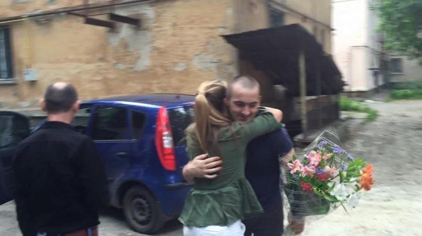 Отец тяжелобольного криворожского малыша освобожден из плена террористов (ФОТО), фото-1