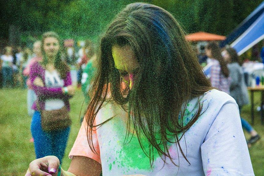 В Киеве прошел праздник красок Холи (ФОТОРЕПОРТАЖ) (фото) - фото 2