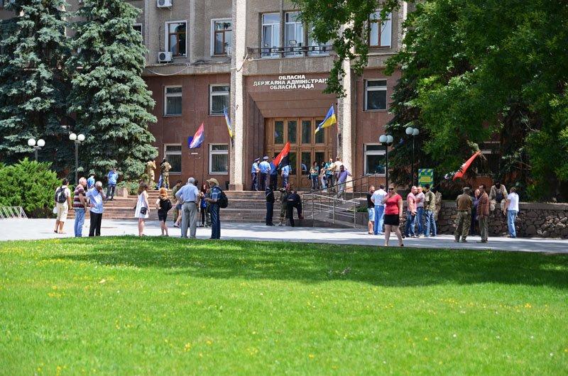 В Николаеве Правый Сектор заночует перед ОГА: пока не будут выполнены требования (ФОТО+ВИДЕО), фото-12