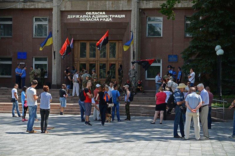 В Николаеве Правый Сектор заночует перед ОГА: пока не будут выполнены требования (ФОТО+ВИДЕО), фото-1