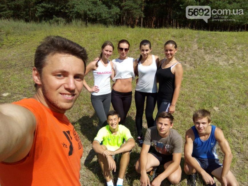В Днепродзержинске прошла очередная пробежка в поддержку здорового образа жизни (фото) - фото 4