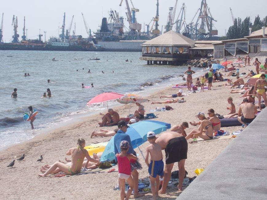 Курортный сезон в Бердянске набирает обороты (фото) - фото 1