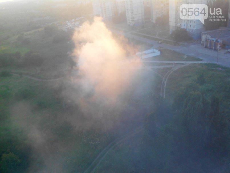 В Кривом Роге: установили памятный знак на месте гибели Кузьмы, встретили освобожденного из плена бойца, на Восточном горела свалка (фото) - фото 3
