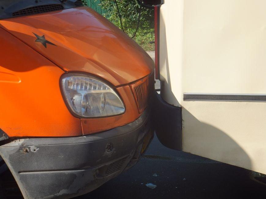 В Кировограде произошло ДТП - столкнулись две маршрутки и троллебус. ФОТО (фото) - фото 1