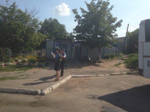 В туалете мариупольского автовокзала нашли гранату (ФОТО) (фото) - фото 1