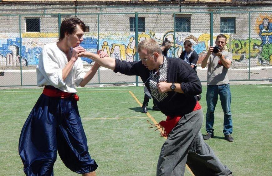 Ребята из Кременчугской воспитательной колонии закалялись по-казацки (ФОТО) (фото) - фото 1