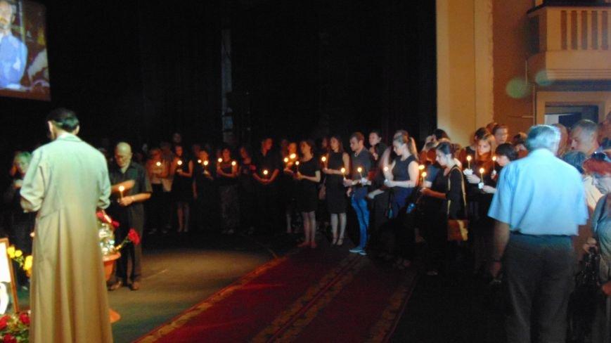 Мариуполь простился с главным режиссером  драмтеатра Константином  Добруновым (фото) - фото 1