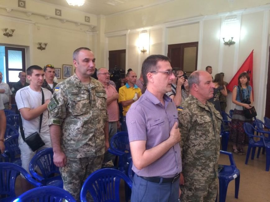 Отец погибшего киборга Андрея Миронюка получил награду в Мариуполе (ФОТО), фото-5