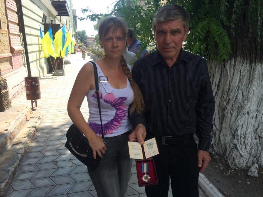 Отец погибшего киборга Андрея Миронюка получил награду в Мариуполе (ФОТО), фото-9