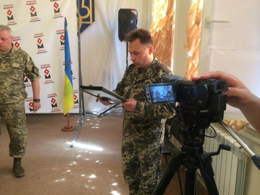 Отец погибшего киборга Андрея Миронюка получил награду в Мариуполе (ФОТО), фото-6