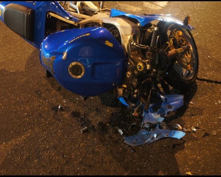 Трагедия на дороге. 10 июля автомобиль Lada Granta  сбил мотоциклиста (фото) - фото 1