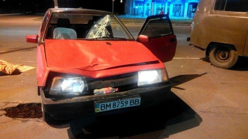 В Сумах машина насмерть сбила перебегавшего пешехода (ФОТО) (фото) - фото 1