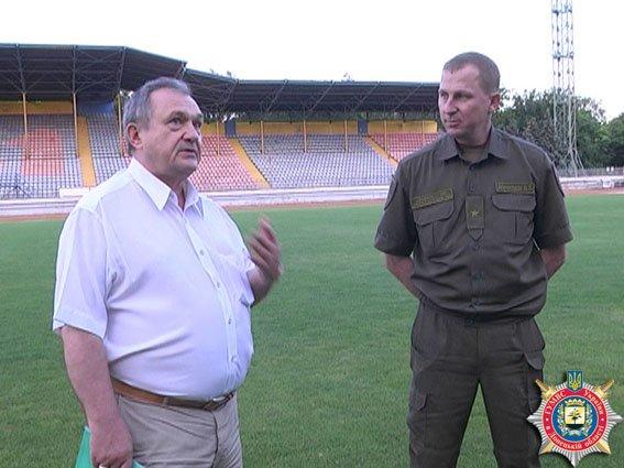 Милиция Донецкой области взяла под охрану футбольное движение в Мариуполе (ФОТО) (фото) - фото 1