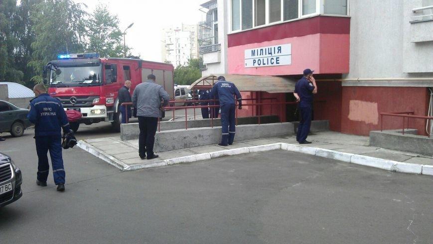 Поблизу одного із райвідділків у Львові стався вибух: поранення отримав працівник міліції (ФОТО) (фото) - фото 1